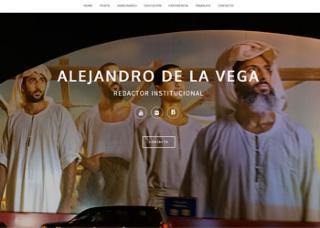 Alejandro de la Vega - Redactor